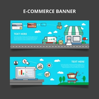 E-Commerce-Banner Set