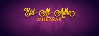 Eid-Al-Adha Mubarak Social Media Banner Design.
