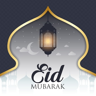 Eid mubarak Hintergrund Design
