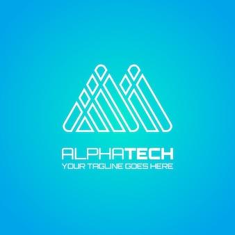 Eine Logo-Vorlage
