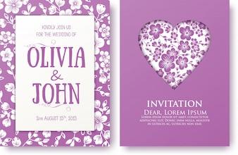Einladung Form Pflege Feier Broschüre