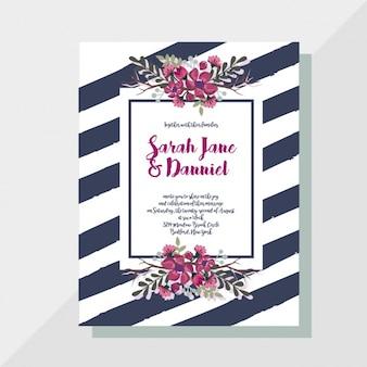 Einladung zur Hochzeit Design
