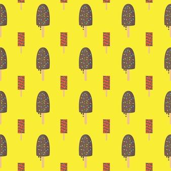 Eiscreme Muster Hintergrund