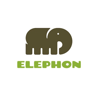 Elefanten-Logo-Design