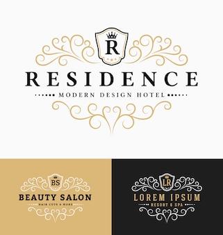Elegante Logo Sammlung