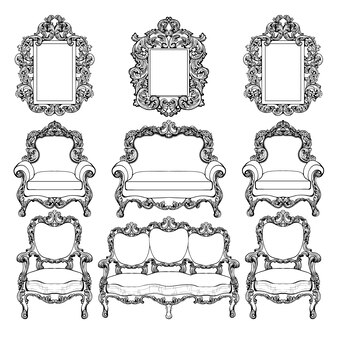 Elegante Möbelkollektion