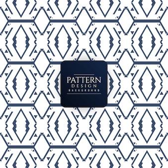 Elegante nahtlose geometrischen Muster Hintergrund