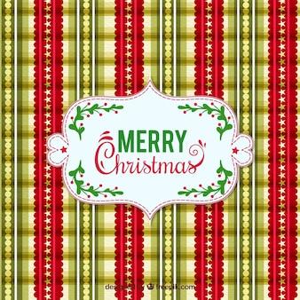 Elegante Weihnachtsmuster