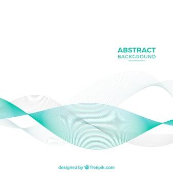 Eleganter Hintergrund mit abstrakten Wellen