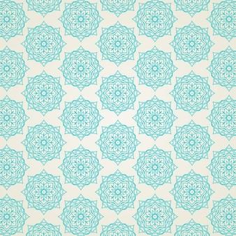 Eleganter Hintergrund mit einem dekorativen Muster