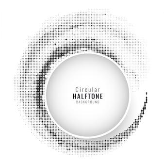 Eleganter Kreis Halbton-Hintergrund