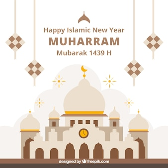 Eleganter muharram Hintergrund