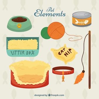 Elemente für Haustier