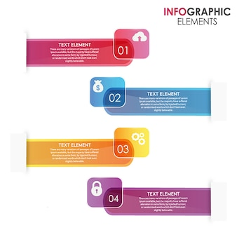 Erstaunliche Vektor-Ingographie-Designs