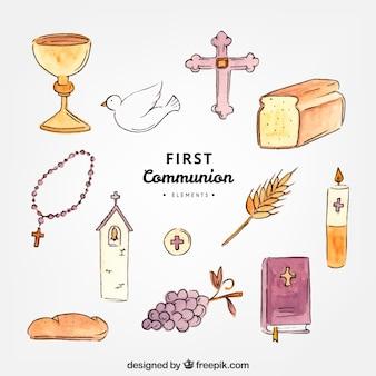 Erste Kommunion Elemente