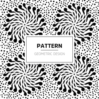 Ethnische floralen nahtlose Muster Zusammenfassung ornamentalen Muster