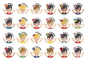 Eurocup Team Avatare Sammlung