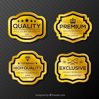 Exklusive Produktaufkleber
