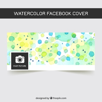 Facebook Aquarellabdeckung