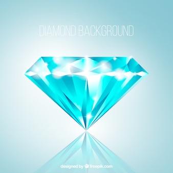 Fantastischer Hintergrund des schönen Diamanten