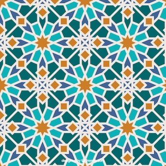 Farben islamischen Mosaik