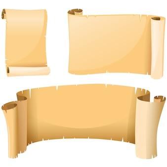 Farbige Pergamentpapier-Design