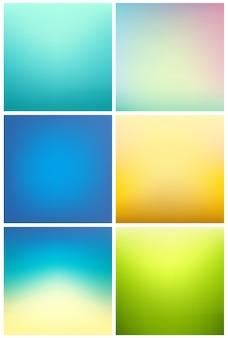 Farbverlauf Hintergrund Sammlung