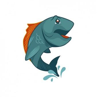 Fisch auf dem Trockenen