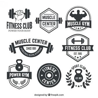 Fitness Club Abzeichen