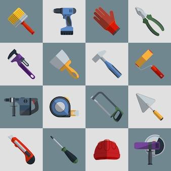 Flache Werkzeuge Design