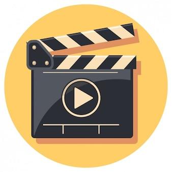 Flachfilmklappe Icon