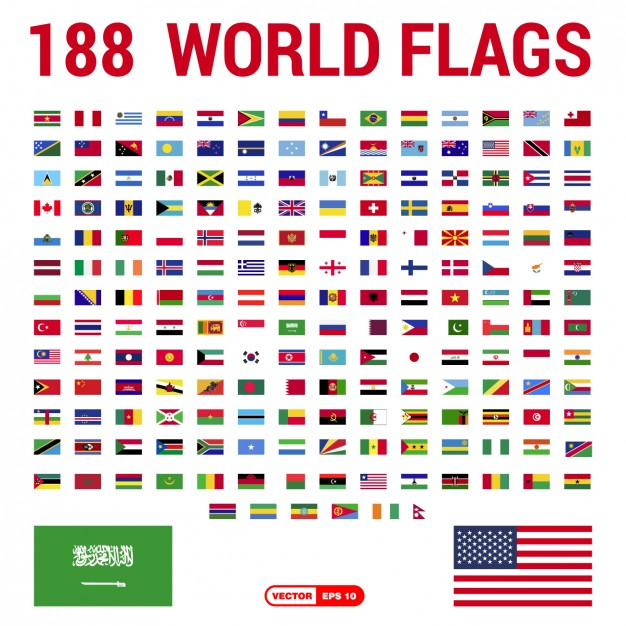 Flags of the World Collection