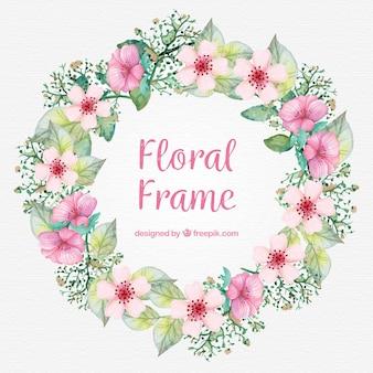 Floral Frame Hintergrund