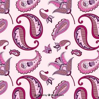 Floral ornamental Muster Batik