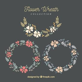 Florale Ornamente Sammlung
