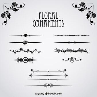 Floralen Ornamenten Sammlung