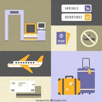 Flughafen Elemente