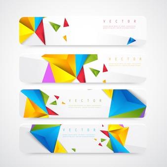 Flyer Vorlage Header Design.