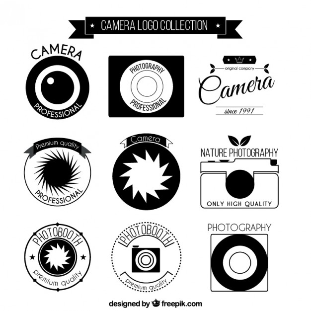 Fotokamera Logo Collection