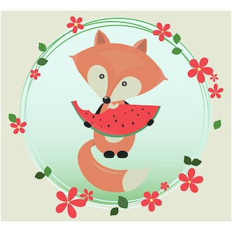 Fox Hintergrund-Design