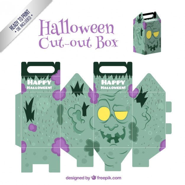 Frankenstein Cut-Out Box