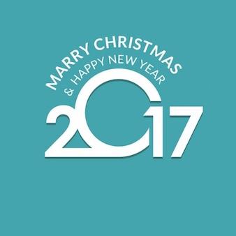 Frohes neues 2017 Jahre Jahreszeit-Grüße