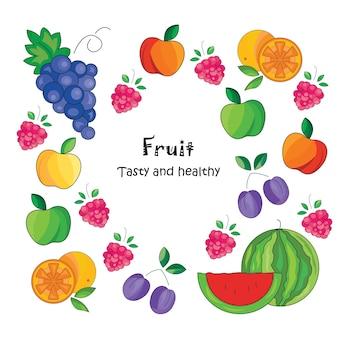 Fruchthintergrund