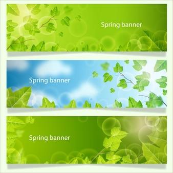 Frühling Banner-Sammlung