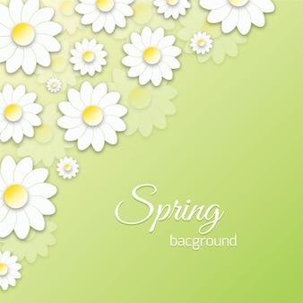 Frühling Floral 3D Illustration
