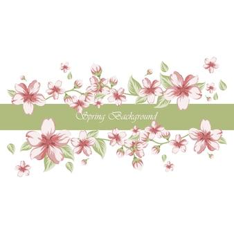 Frühling Hintergrund Design
