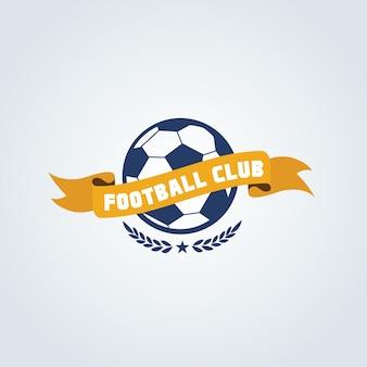 Fußball-Logo, Fußball-Logo, Sport-Team-Logo, vectorTemplate