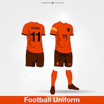 Fußball-Uniform