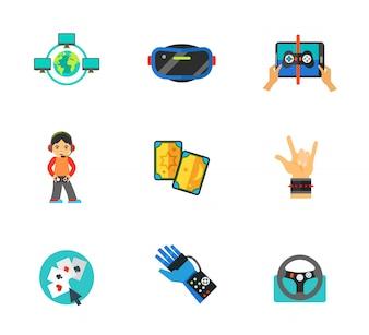 Gaming Icons Sammlung