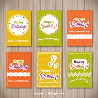 Geburtstagskarte Sammlung
